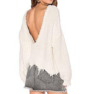 Wildfox Distressed Knit
